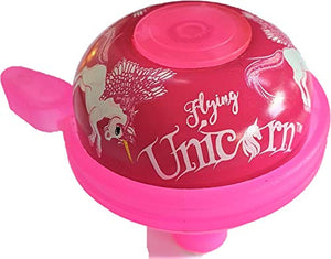 Sport Direct™ Bicycle Flying Unicorn Pink Childs Bell