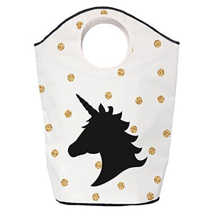 Butter Kings Unicorn in Dots Multi-Fuctional Bag, Polyester, Multi-Colour, 70 x 57 x 26 cm