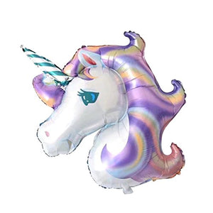 Large Unicorn Aluminum Foil Balloon