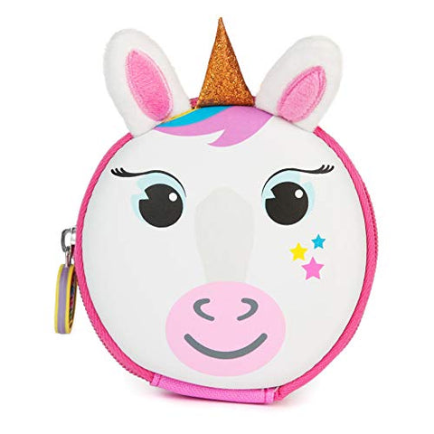Kids Unicorn Keyring Travel Pouch Coin Purse