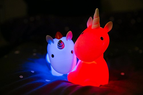 led unicorn mood night light