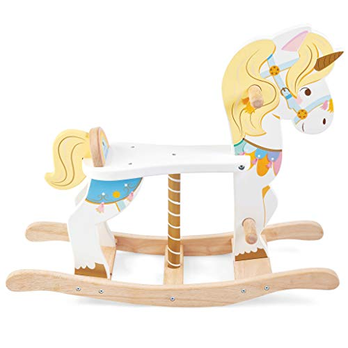 Pretty Unicorn Rocking Horse For Ages 1+