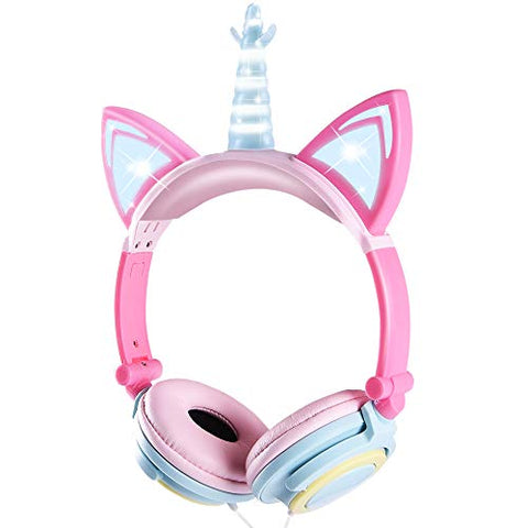 Unicorn Kids Headphones | Wireless | Volume Limited | For Girls