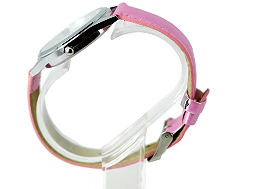TAPORT® UNICORN Pink Leather Strap Quartz Watch