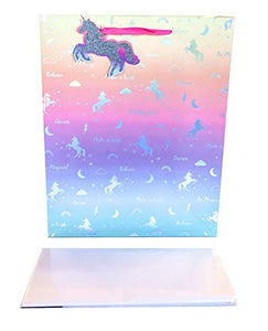 Ombre Unicorn Gift Bag Pastel