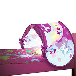 Pink Unicorn Bed Tent Toddlers, Kids Tent