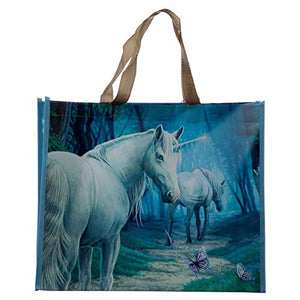 Large Reusable Unicorn Shopping Bag Tote | Lisa Parker