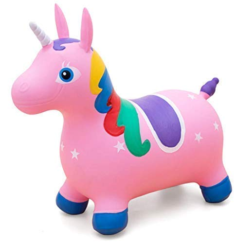 Pink unicorn inflatable unicorn for girls garden toy