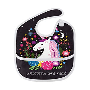 Unicorns Are Real | Feeding Bib | 12-36 Months