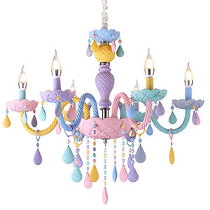 Unicorn Inspired Chandelier Crystal Light