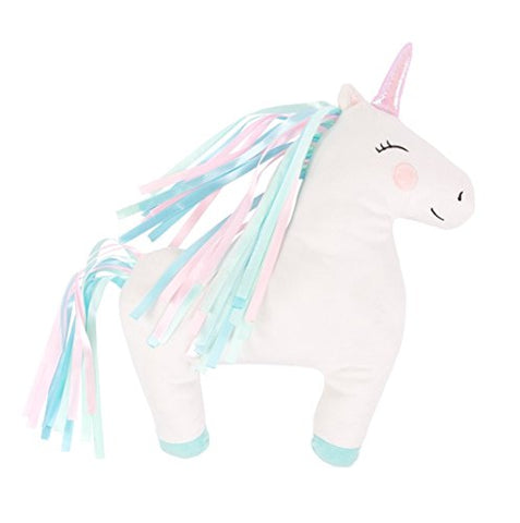 Children's Bedroom Kids Nursery Cushions Sass & Belle (Rainbow Unicorn)