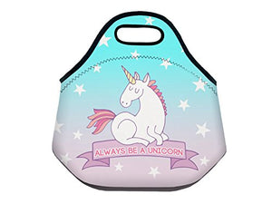 unique unicorn lunch box bag wet suit