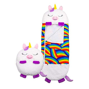 Unicorn Play Pillow | Sleeping Bag | White Unicorn | Medium | 3-6 Years