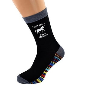Trust Me I'm A Unicorn Men's Socks