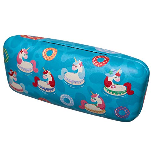 Fun Unicorns Vacation Vibes Sunglasses Case