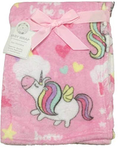 Unicorn Blanket | Soft Fleece (Pink Unicorn)