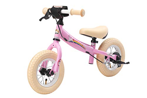 Balance Bike for Toddler Unicorn Themed 2 years plus Pink