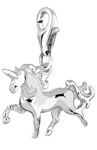 Unicorn Charm Pendant | 925 Sterling Silver | Fits All Charm Systems