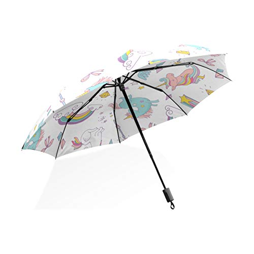 Compact Unicorn Umbrella