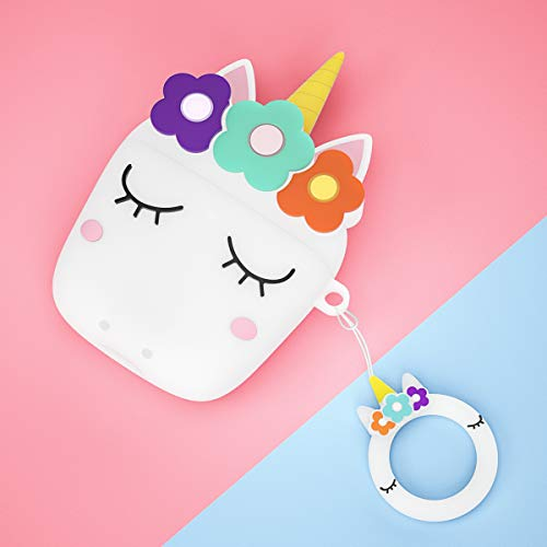Cute Silicone Unicorn Airpod Protective Case