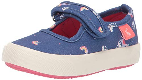Joules unicorn closed toe sandals girls blue