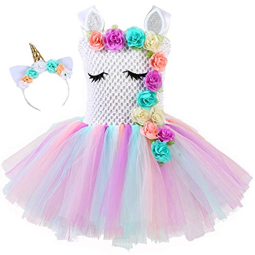 Fancy dress princess unicorn kids