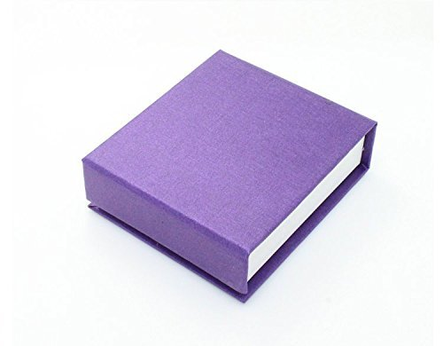 Purple Coloured Gift Box For Earrings