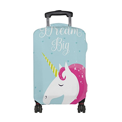 524e81333 Unicorn 'Dream Big' Suitcase Protector Fits 23-32 Inch Suitcase M/XL – All  Things Unicorn
