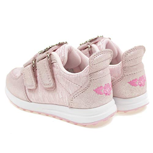Lelli Kelly Rose Gold Pink Shimmer Unicorn Adjustable Shoes Trainers