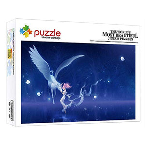 Unicorn & Fairy Fantasy 1000 Piece Puzzle For Kids & Adults