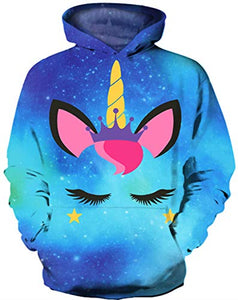 Girls Unicorn Hoodie For Kids | Magical