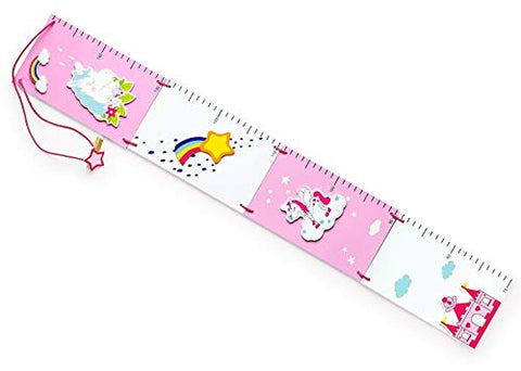 Unicorn Height Chart for Girls Bedroom Or Playroom