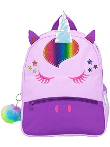 Harry Bear Kids Unicorn Backpack Purple