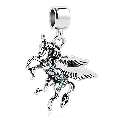 Unicorn Charm Beads For Charms Bracelet