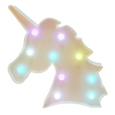 Unicorn LED Marquee Lights Battery Operated Decorative Light