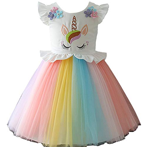 Unicorn tutu fancy dress costume