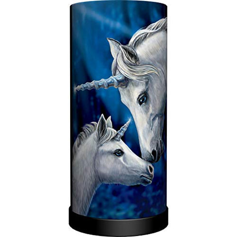 Lisa Parker Unicorn Lamp Blue