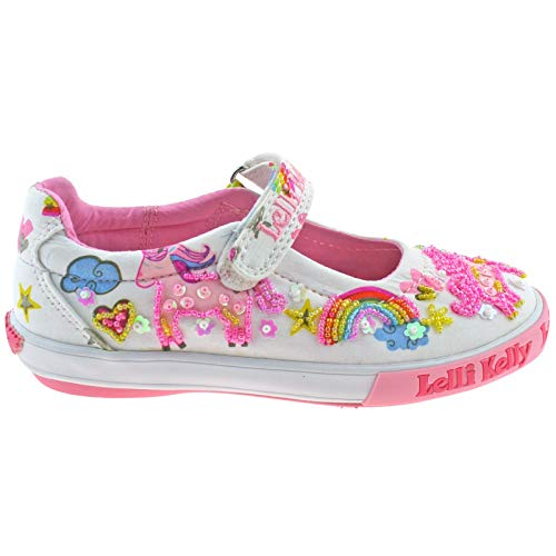 Unicorn multicoloured kids shoe