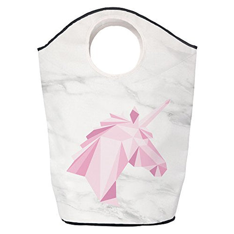 Butter Kings Pink Unicorn Multi-Fuctional Bag, Polyester, Multi-Colour, 70 x 57 x 26 cm