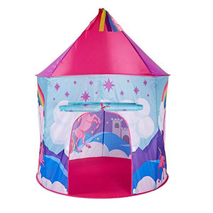 Large unicorn play house tent pink multicoloured