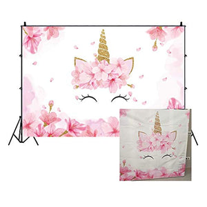 Floral Unicorn Backdrop For Party Photo Shoots Photography Backdrops | Cake Smash, Parties