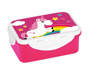 Unicorn Themed Tupperware Plastic Style Lunch Box