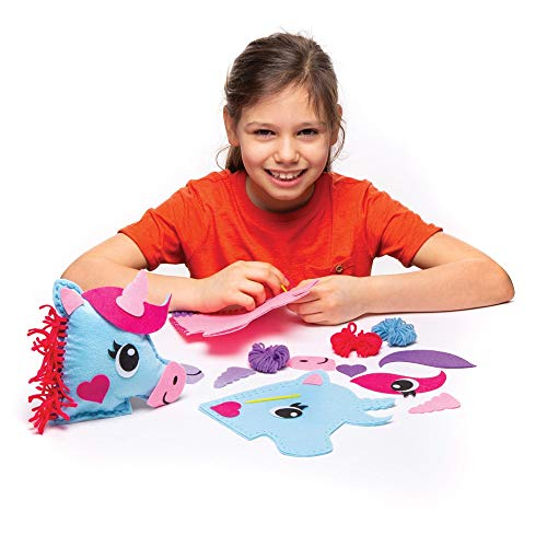 Girls birthday present unicorn sewing kit