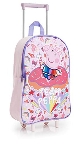 Peppa Pig Unicorn Suitcase for Girls | Hand Luggage | Carry On Suitcase