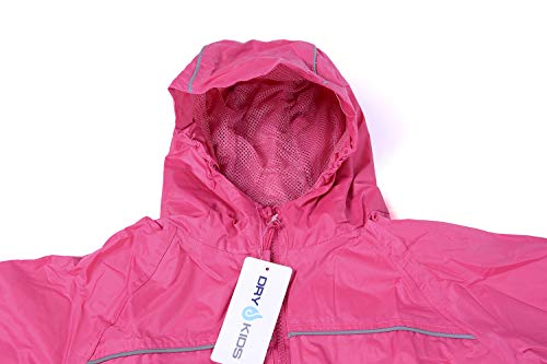 Waterproof Rain suit | Puddle suit | Raspberry Pink