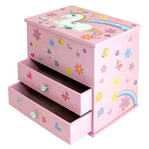 Unicorn Gift | Jewellery Box For Girls | Pink