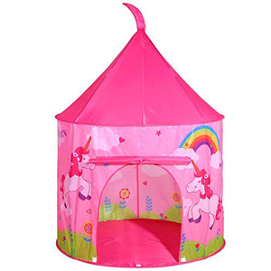 Pop Up Unicorn Indoor or Outdoor Garden Playhouse Tent for Kids | SOKA