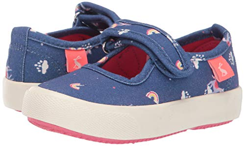 Unicorn rainbow clouds Joules girls shoes