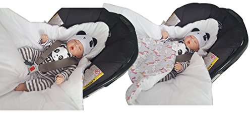 Newborn 0-3 Months Swaddle Wrap Car Seat Blanket
