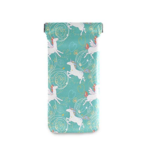 Turquoise Unicorn Sunglasses Case